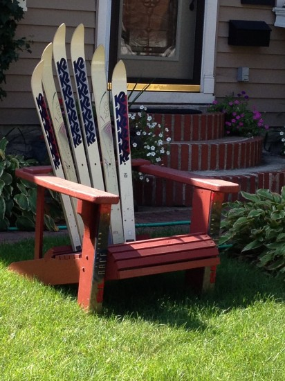 St Paul Adirondack Ski Chair – Adirondack Ski Chairs