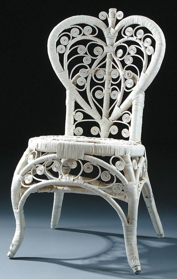 antique wicker chair - Wicker Vs. Rattan Sparrow & Stoll
