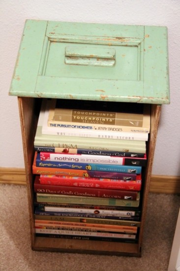 books-drawer