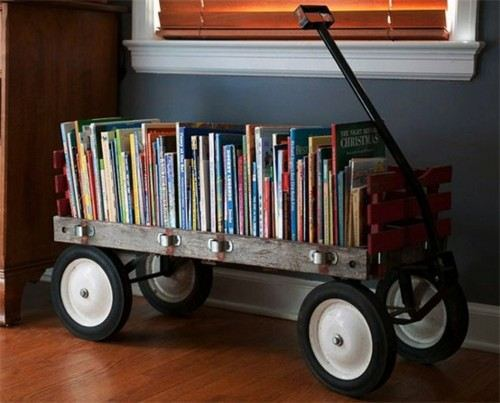 books-wagon