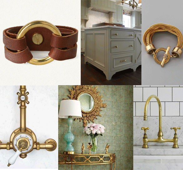 brass kitchen hardware